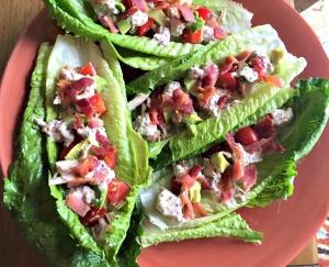 Club Lettuce Wraps