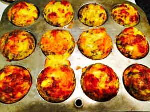 Denver Style Egg and Veggie Muffins